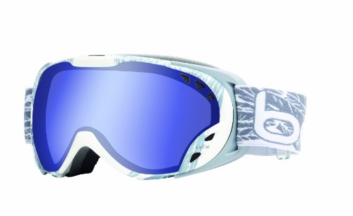 Bolle Duchess Goggles, White and Silver Wings, Aurora Lens