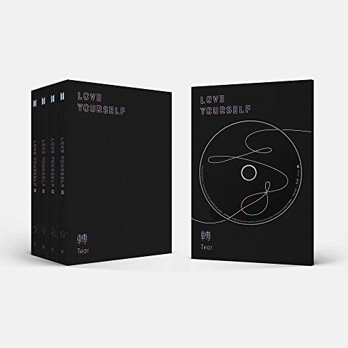 BTS-[Love Yourself 轉'Tear'] 3rd Album Random Ver CD+104p PhotoBook+20p Mini Book+1p PhotoCard+1p Staing PhotoCard+Pre-Order Benefit K-POP Sealed