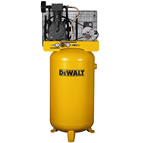 Great Features Of DeWalt DXCMV5048055 Two-Stage Cast Iron Industrial Air Compressor, 80-Gallon