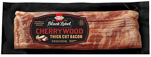 Hormel Black Label Thick Cut Bacon, Stack Pack (4 Pack/24oz Each) (Thick Cut Bacon)