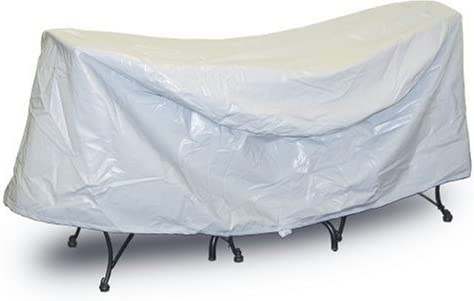 Protective Covers Weatherproof Patio Table and Chair Set Cover, 30 Inch x 36 Inch , Round Table, Gray – 1338
