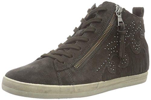 Gabor Shoes Comfort Basic, Botines para Mujer Gris (dark-grey Micro)