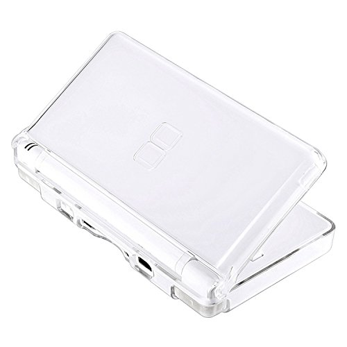 ard Case Cover Compatible with Nintendo DS Lite NDSL , Replacement Protective NDS Lite Crystal Clear ICE Case ()