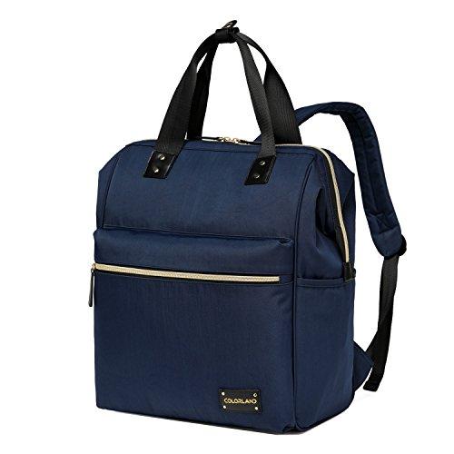 bigforest maternidad multifuncional momia bolso de mano bolsa de viaje bolsa mochila bebé pañales para pañales bolso cambiador Rosa y rojo Talla:talla única azul marino
