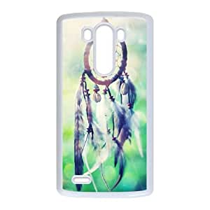 Hwkzl Unique Design Cases LG G3 Cell Phone Case Dream Catcher Printed Cover Protector