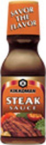 Kikkoman Steak Sauce 11.75oz Blended Steak Sauce