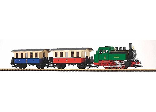 PIKO G SCALE MODEL TRAINS - CLASSIC BR80 EURO PASSENGER STARTER SET - 38130