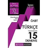 2018 KPSS ÖABT Türkçe Tamamı Çözümlü 15 Deneme