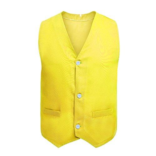 wholesale TopTie Button Vest Twill Volunteer Activity Vest, Waistcoat For Children