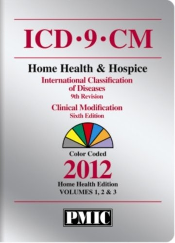 ICD-9-CM 2012 Home Health Edition, Volumes 1, 2 & 3
