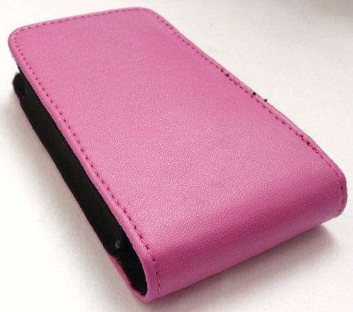 Emartbuy® Value Pack Para Samsung Galaxy Young S6310 Hot Rosa Slide In (Tamaño Mediano) Cover Funda Pocket + Protector De Pantalla + Compatible Micro Usb Car Charger