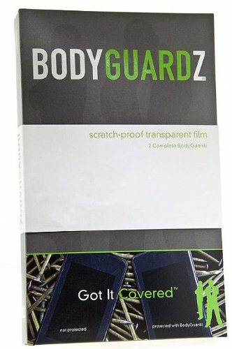 BodyGuardZ Scratch-Proof Transparent film for LG Chocolate Touch VX8575 - Transparent
