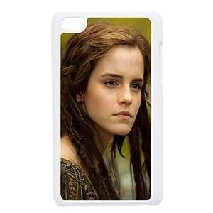 Noah Emma Watson Ila 94415 funda iPod Touch 4 caja funda del teléfono celular blanco cubierta de la caja funda EEECBCAAJ05086