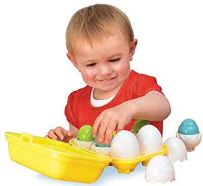 TOMY Hide N Squeak Eggs