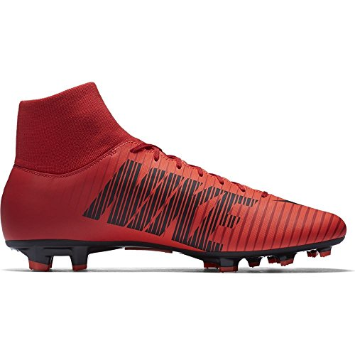 Nike de RED para BLACK hombre Df Vi fútbol Botas UNIVERSITY BRIGHT Victory Fg Mercurial CR qEdnp8F
