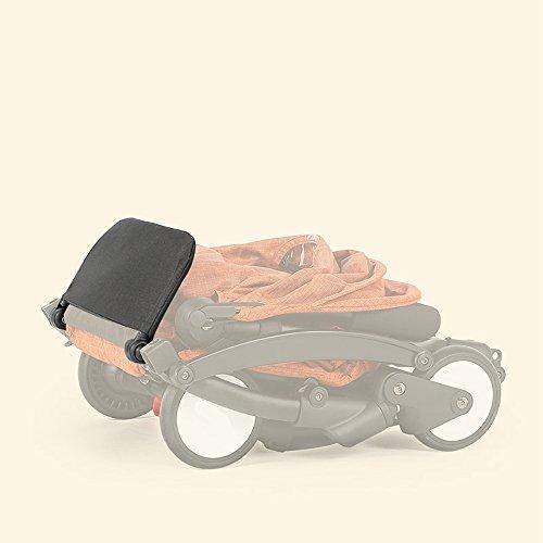 Stroller Footrest 6.5 inch longer Accessories for Baby stroller /Yoyo/Yoya /Babytime/ VOVO /Babythrone /Feet Extension Infant Pram Foot board (Black) by Karleksliv (Image #3)