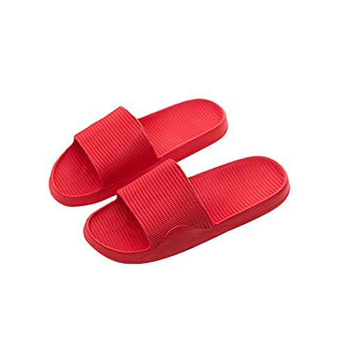 Mixte BestJuly Adulte BestJuly Red Mules Mules UCfWqxYY
