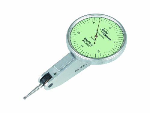 Mahr Federal 4307950 801 SG Test Indicator, Plus/Minus 0.015