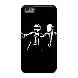 Protective Cell-phone Hard Cover For Apple Iphone 6 (GyJ2522kkHi) Provide Private Custom Vivid Daft Punk Pulpfiction Image