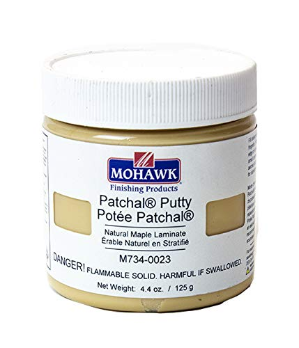Mohawk Finishing Products Patchal Putty (Natural Maple Laminate): Wood Putty
