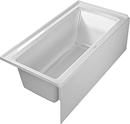 Etonnant Duravit 700356000000090 Bathtub Architec With Integrated Panel And Flange,  60u0026quot; X 30u0026quot;,