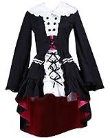 Haruhi Suzumiya Cosplay Costume - Nagato Yuki Gothic 2nd, White