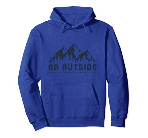 - Go Outside Worst Case Scenario A Bear Kills You Hoodie