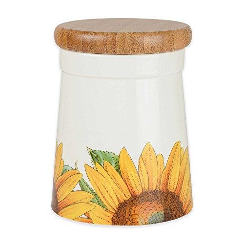 Portmeirion Botanic Blooms Sunflower Medium Storage Jar, (1-pack)