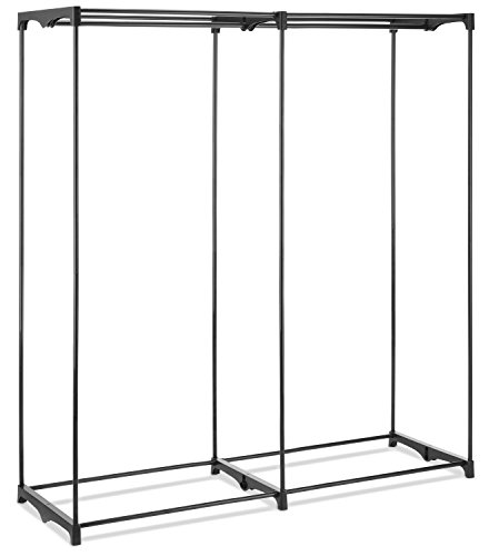 Whitmor Extra Wide Portable Clothes Closet, White by Whitmor (Image #4)