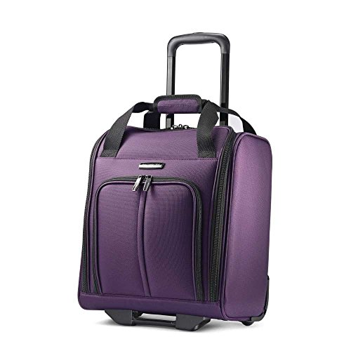Samsonite Leverage LTE Wheeled Boarding Bag, Purple by Samsonite