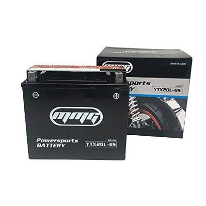 Harley Davidson Battery >> Ytx20l Bs Battery Maintenance Free Fits Harley Davidson Xl Xlh Sportster Flst Series Softail Fxd Fxst Series Dyna Cvo Dyna Softail
