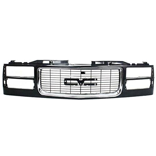 Koolzap For 94-02 GMC C/K Series Pickup Truck Front Grill Grille Assembly GM1200392 12388709