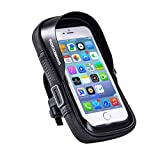 ROCK BROS Bicycle Bike Phone Mount Holder Bag Waterproof Handlebar Cell Phone Holder Case Touch Screen Bicycle Bike Phone Pouch