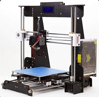 XVICO 3D Printer DIY Kit Aluminum Printing Machine with Filament Run Out Detection Sensor and Resume Print Metal Base Desktop 3D Printers for Home and School Education 220x220x250mm Black