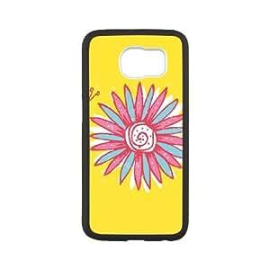 Samsung Galaxy S6 Cell Phone Case Black Lazy Daisy SU4460200