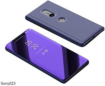 Funda para Sony Xperia XZ3 Estuche Espejo Elegante Cover de ...