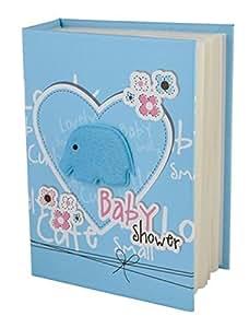 ENT Álbum de fotos bebé azul - art. EL32123 - Lon. 12 cm - Anc. 16,5 cm - Alt. 5 cm - Ten by Varotto & Co.