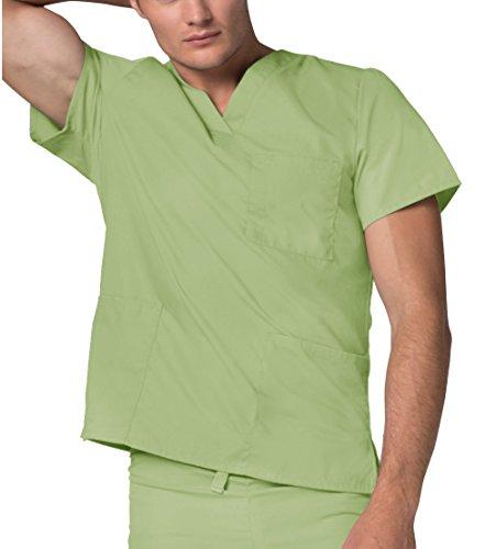 Uniformi Unisex Verde Lavoro sage Mediche Adar Da Superiore Camice Parte Infermiera Ospedale TwdSt7qS