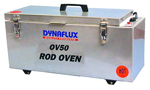 Dynaflux OV50 Stainless Steel Portable Horizontal Rod Oven, 115VAC, 50 lbs Electrode Capacity