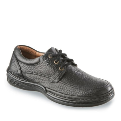 Propet Mens Bristol Closed Footwear Black Tumbled THa2NH6fw