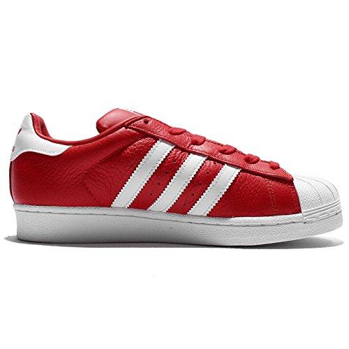 Adidas Bb2246 Superstar Rosso bianco Deportivas P8rO4Pw7q