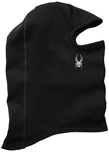 Spyder T-Hot-Balaclava, Black/Silver, One Size
