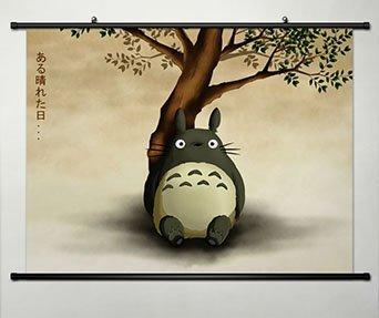 Amazon.com: Anime My Neighbor Totoro Home Decor Wall Scroll Poster ...