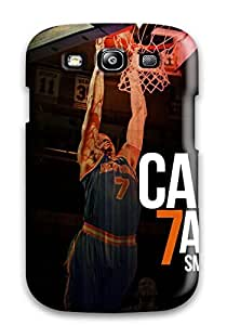 Fashionable OjUJGeB12693Pdfrm Galaxy S3 Case Cover For Carmelo Anthony Protective Case