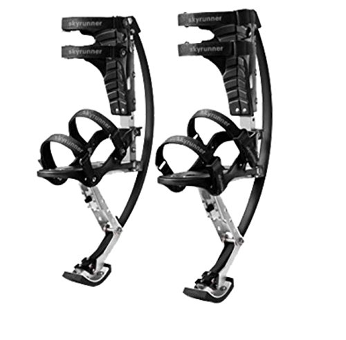 Jump-bird Jumping Stilts Pogo Stilts88-132lbs/40-60kg Black by Jump-bird (Image #3)