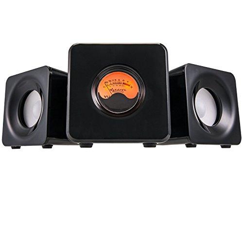 Meters M CUBED BLK Desktop BT Speakers Gloss Black