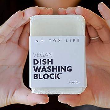 Amazon.com: No Tox Life - Jabón para lavar platos, sin ...