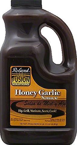 Roland Fusion Solutions: Honey Garlic Sauce 1 Gal (2 Pack) (Roland Garlic)