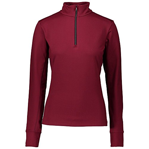 Mid Layer Ski - Obermeyer Nari 1/4-Zip Turtleneck Mid-Layer Womens