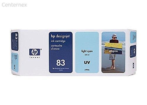 83 Light Cyan UV Ink Cartridge (C4944A) - Centernex (C4944a Light)